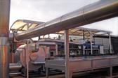 ORC-Pilotanlage 100 kWel auf der Biogasanlage Wasmerslage.