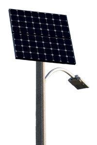 Solarbetriebene LED-Straßenlaterne vorgestellt