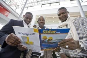 Intersolar 2009: Branche sieht sich gut gerüstet für die nächste Party