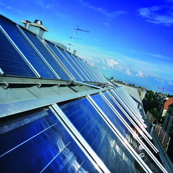 Solarthermieanlage in Berlin