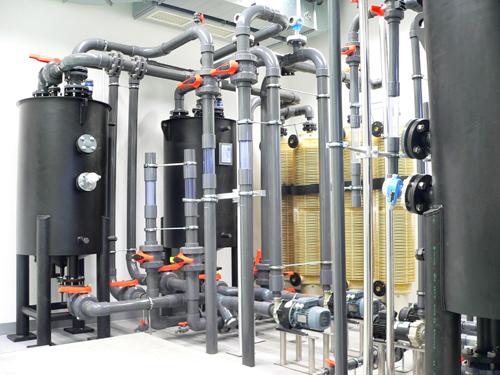 Redox Flow Labor von Fraunhofer UMSICHT