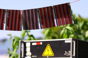 Gedruckte Solarzellen auf Papier