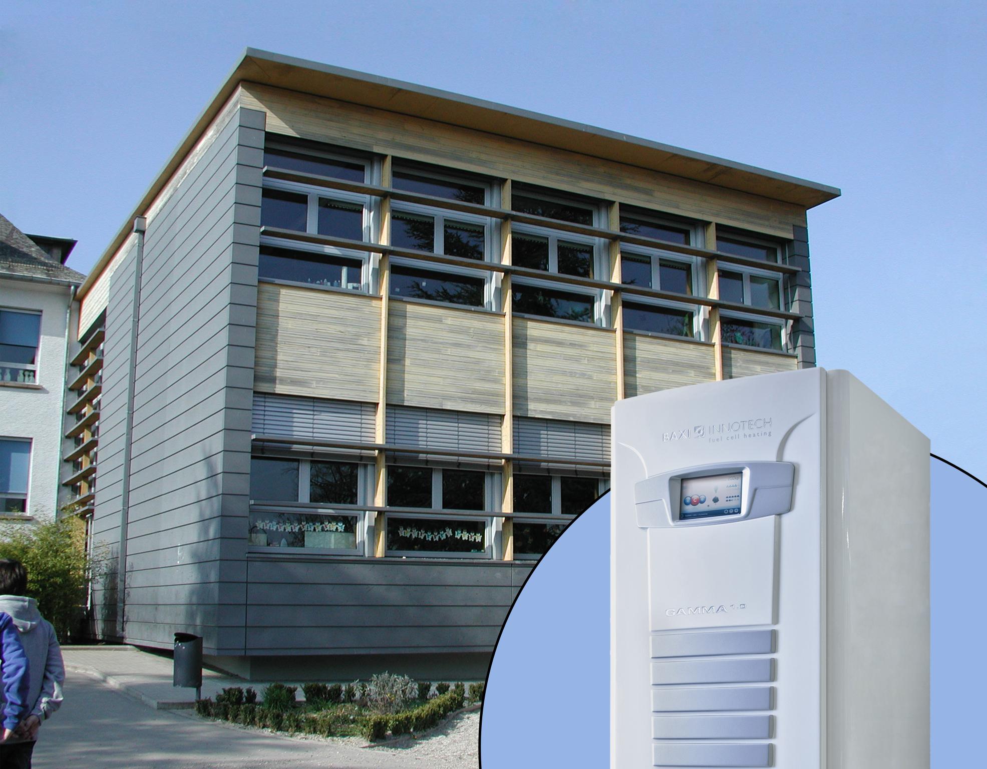 Luxemburg führt erste Brennstoffzellen Heizung