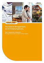 Neue dena-Broschüre zur thermischen Behaglichkeit im Sommer