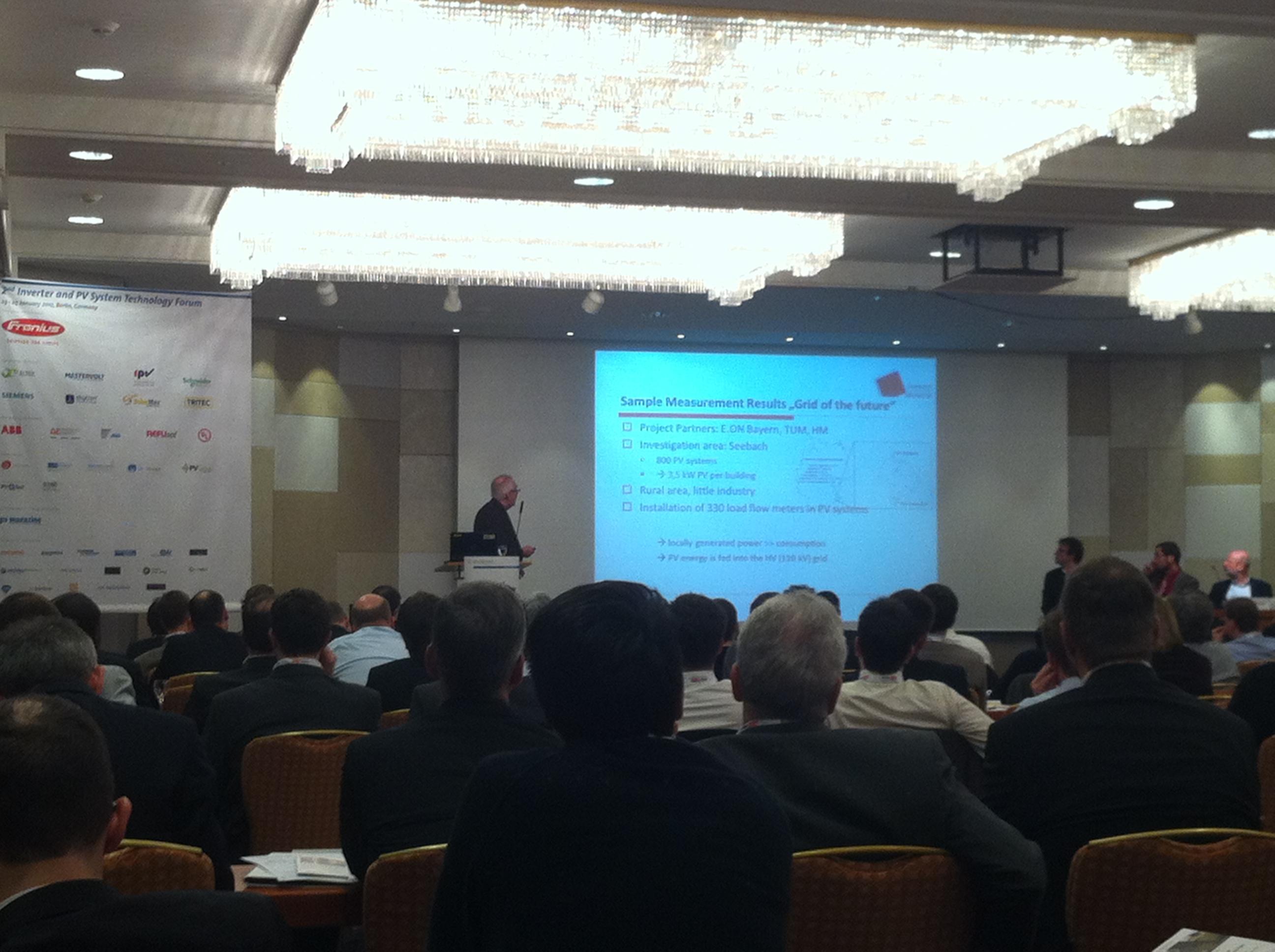 Solarpraxis Konferenz am 23.01.2012
