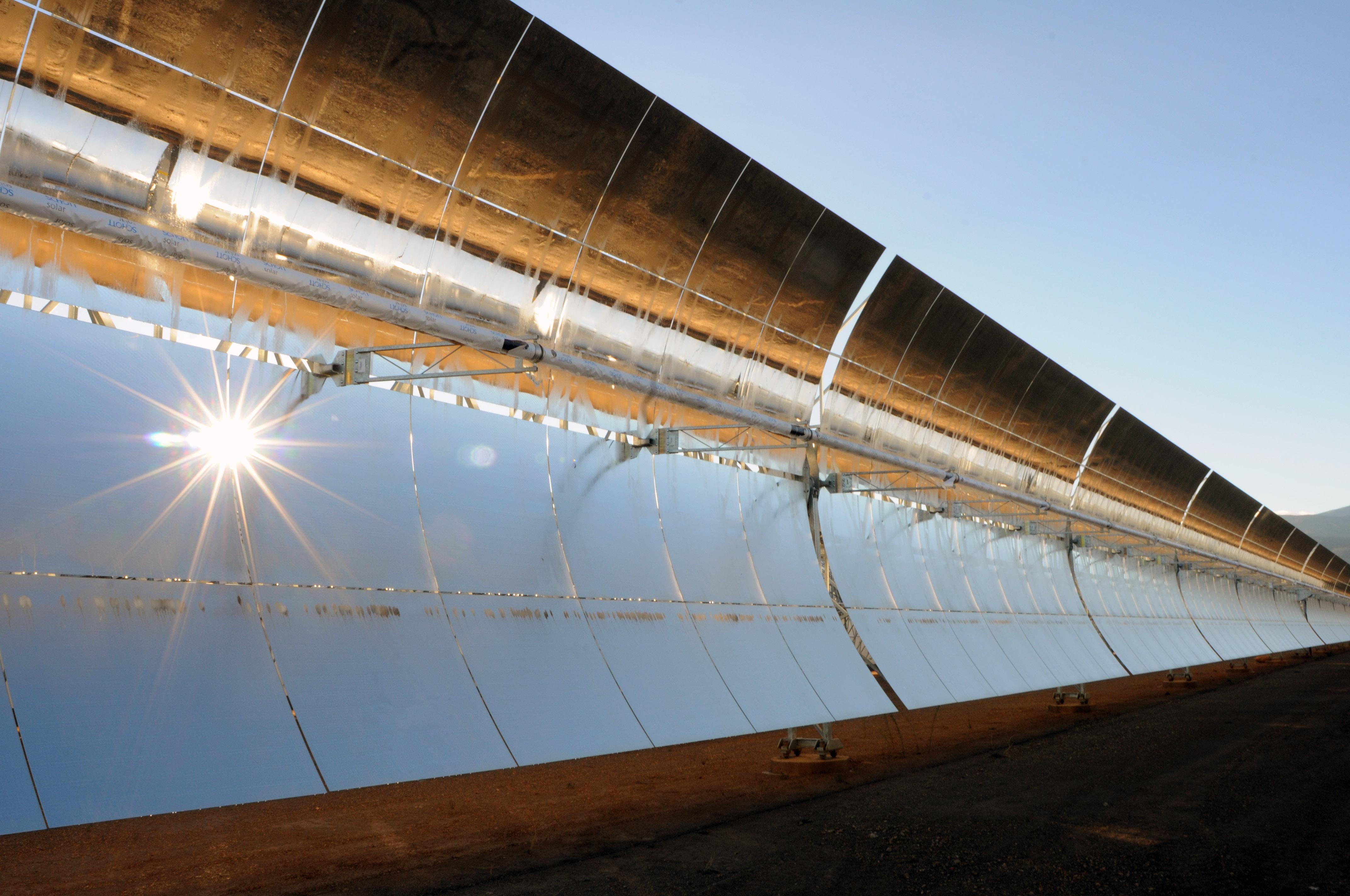 Solarthermiekraftwerk Andasol 3 (Spanien), Quelle: RWE Innogy