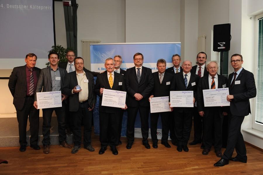 Preisträger des 4. deutschen Kältepreises, Quelle: CO2-online