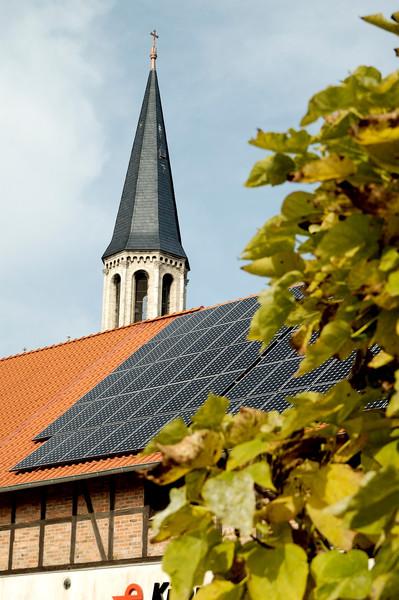 Photovoltaikdachanlage im Herzen von Dardesheim, Agentur für Erneuerbare Energien