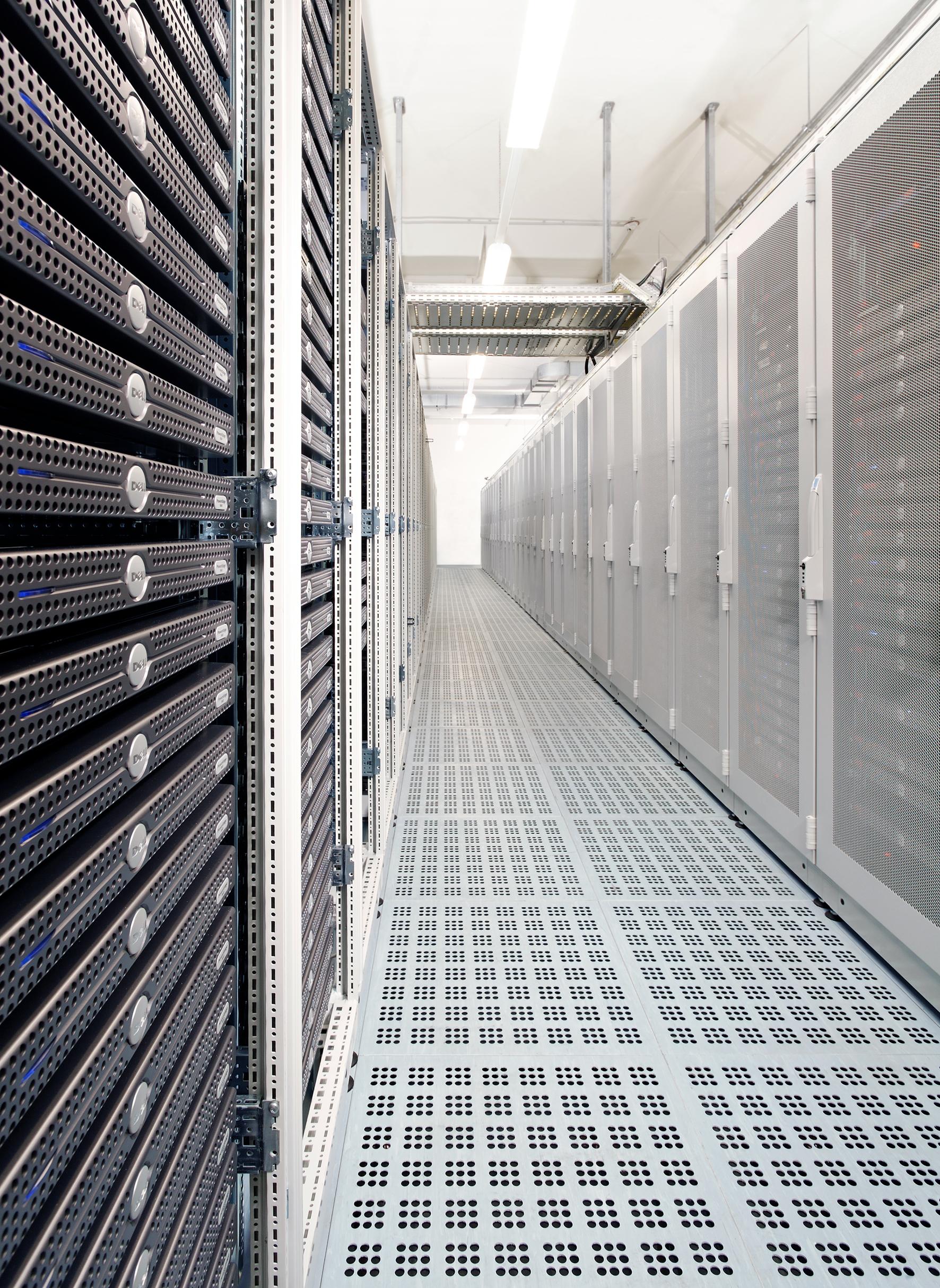 Servergang im Hosteurope Datacenter I