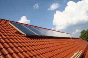 Flachkollektor, Quelle: BSW-Solar/Citrin Solar