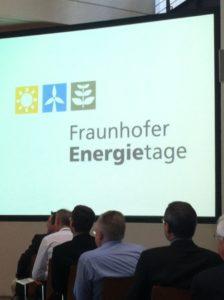Fraunhofer Energietage 2012, Foto: Andreas Kühl