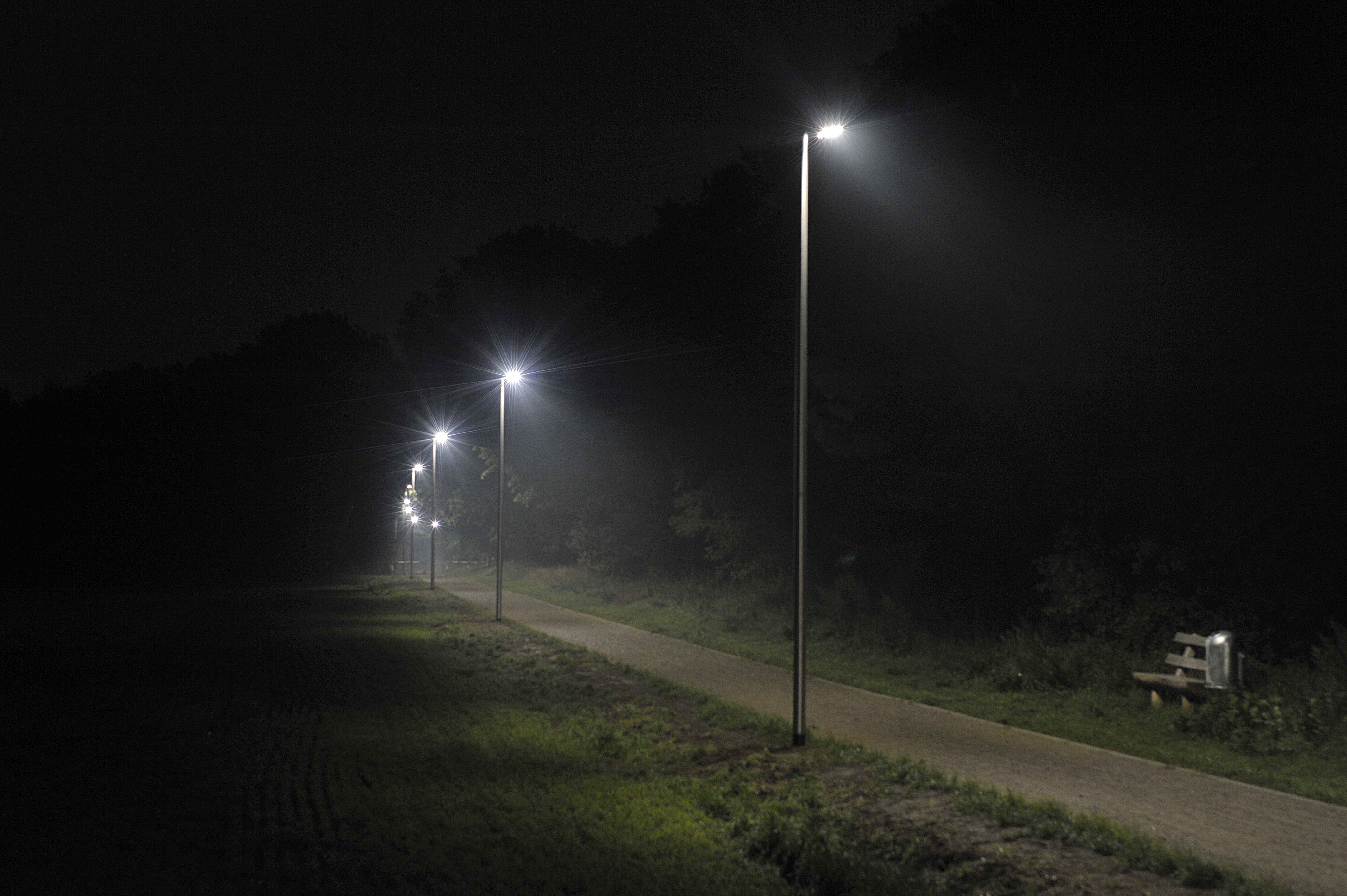 Radweg Kremperheide bei Nacht, Quelle: www.indal-gmbh.de