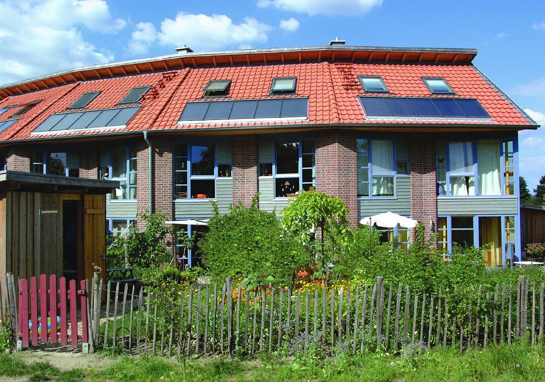 Solarhaus in Geesthacht, Quelle: Solvis