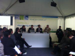 Fachforum zur Finanzierung von Energieeffizienz auf der Woche der Umwelt 2012