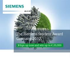 Siemens Student Award 2012
