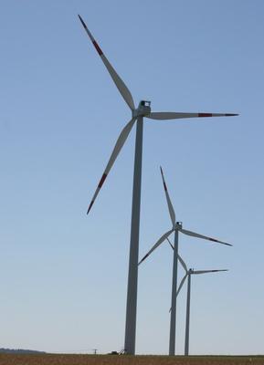 Der Friedberger Windpark, Quelle: C. Meisinger / pixelio.de