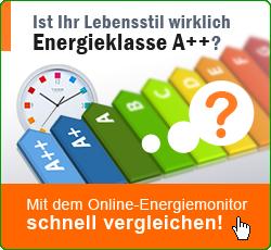 Energiemonitor Lebensstil Effizienzklasse