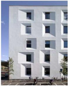 EXPOST-Gebäude in Bozen, Architekt: Michael Tribus, Foto: Rene Riller