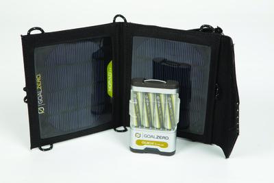 GoalZero zeigt zur IFA 2012 neue Geräte und Systeme zur regenerativen und emissionsfreien Energie-Versorgung für unterwegs