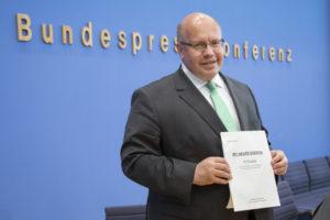 Bundespressekonferenz mit Peter Altmaier, Quelle: BMU