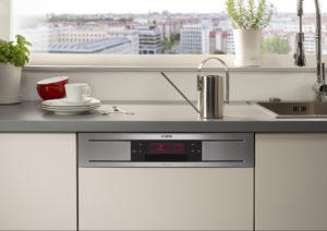AEG Favorit ProClean: Mit TimeSaver-Option doppelt so schnell Geschirr spülen, Quelle: http://newsroom.electrolux.com