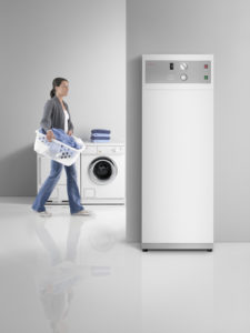 Warmwasser-Wärmepumpe: Luft-Wasser-Wärmepumpe für die Warmwasserbereitung, Quelle: Stiebel-Eltron