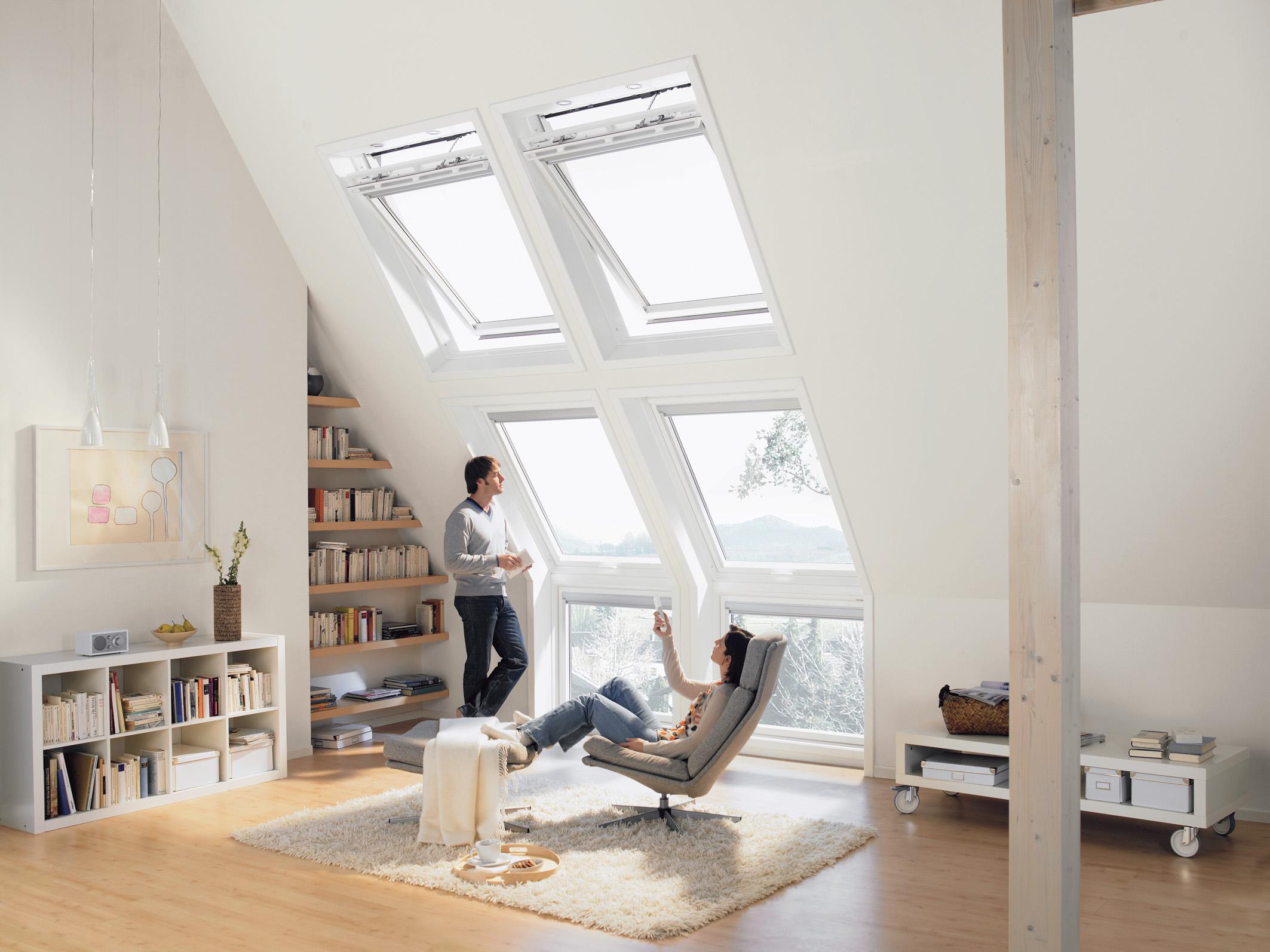 Dachfenster machen jede ehemalige Dunkelkammer zu einer echten Lichtoase. Foto: VFF/VELUX Deutschland GmbH