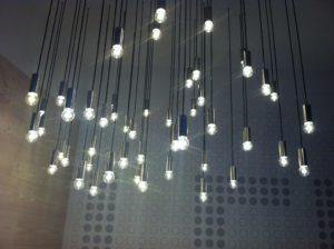 Glühbirnen mit LED-Technik bei Panasonic @IFA2012, Foto: A. Kühl