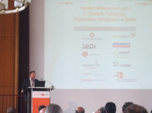 2. Deutsch-Türkisches Photovoltaik-Symposium, Foto: A. Kühl