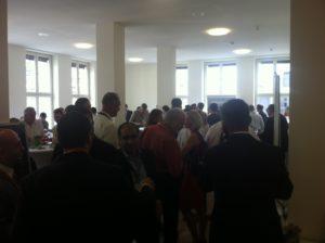 Netzwerken beim 2. Deutsch-Türkischen Photovoltaik-Symposium, Foto: A. Kühl