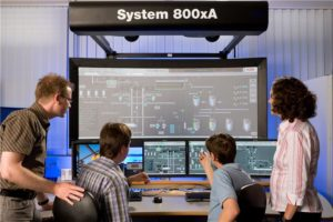 ABB-Leitsystem, Bild: ABB