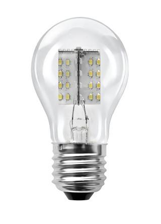 Segula LED Glühlampe 50667, klar 4,1W, 80 LEDs, E27, 2600K