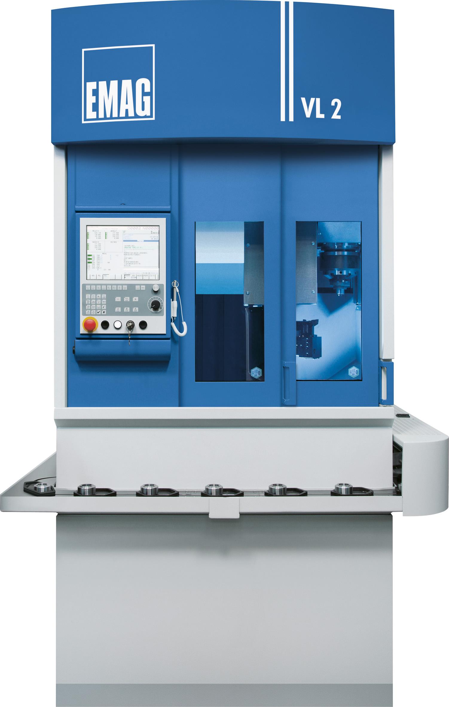Die Drehmaschine VL 2 von EMAG gehört zu den energieeffizientesten Maschinen der Welt, Quelle: EMAG Holding GmbH