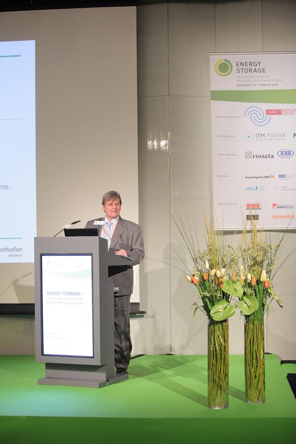 Eröffnungsvortrag von Prof. Dr Eicke R. Weber