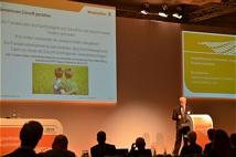 Weidmüller Energiemanager Bernhardt Köhler präsentierte beim dena Energieeffizienzkongress sein Engagement für Energieeffizienz und Klimaschutz., Quelle: Weidmüller