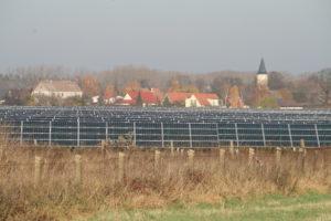 Solarpark im Havelland (Brandenburg), Foto: Andreas Kühl