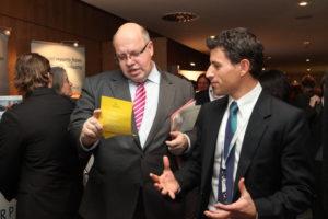 Nicht nur Peter Altmeier war auf dem Forum Solarpraxis: Quelle: Solarpraxis, Therese Aufschlager