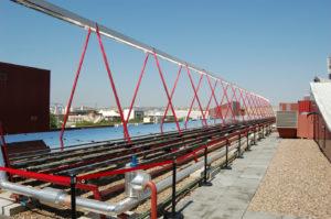 Solarthermische Prozesswärme hat ein enormes Potenzial in der industriellen Anwendung. ©Fraunhofer ISE