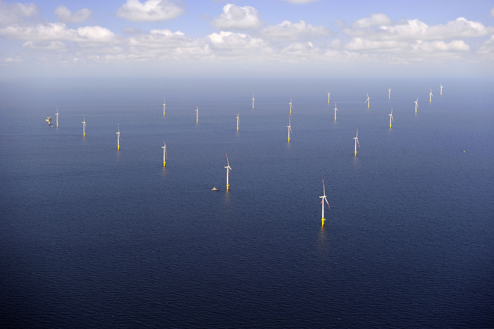Ansicht EnBW Windpark Baltic 1