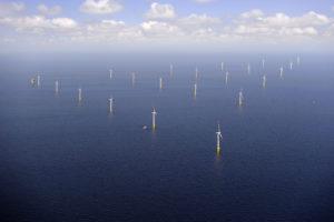 Ansicht EnBW Windpark Baltic 1