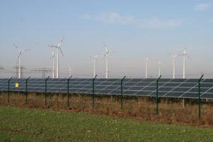Photovoltaik und Windenergie im Havelland, Foto: Andreas Kühl