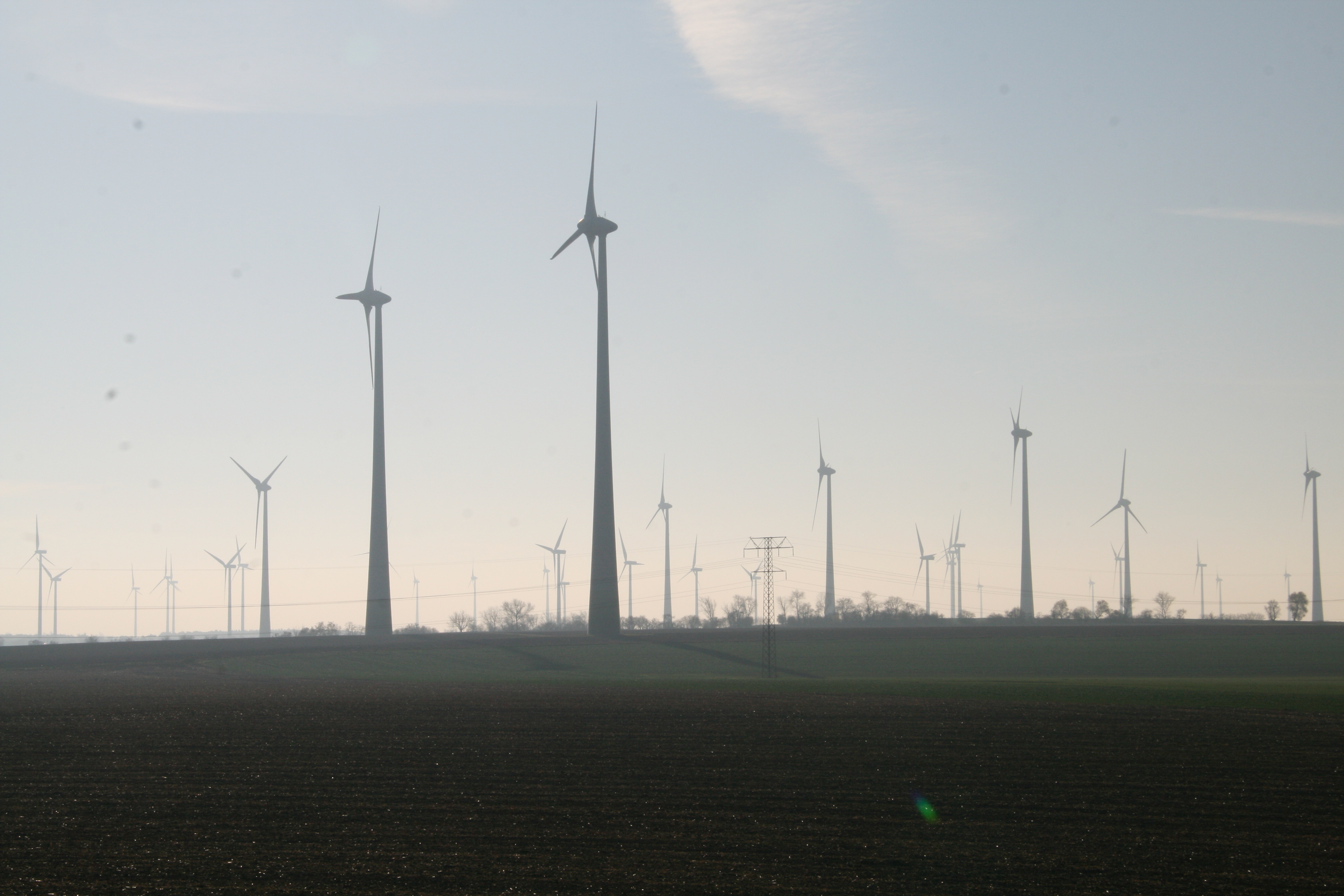 Windräder in Brandenburg, Foto: Andreas Kühl