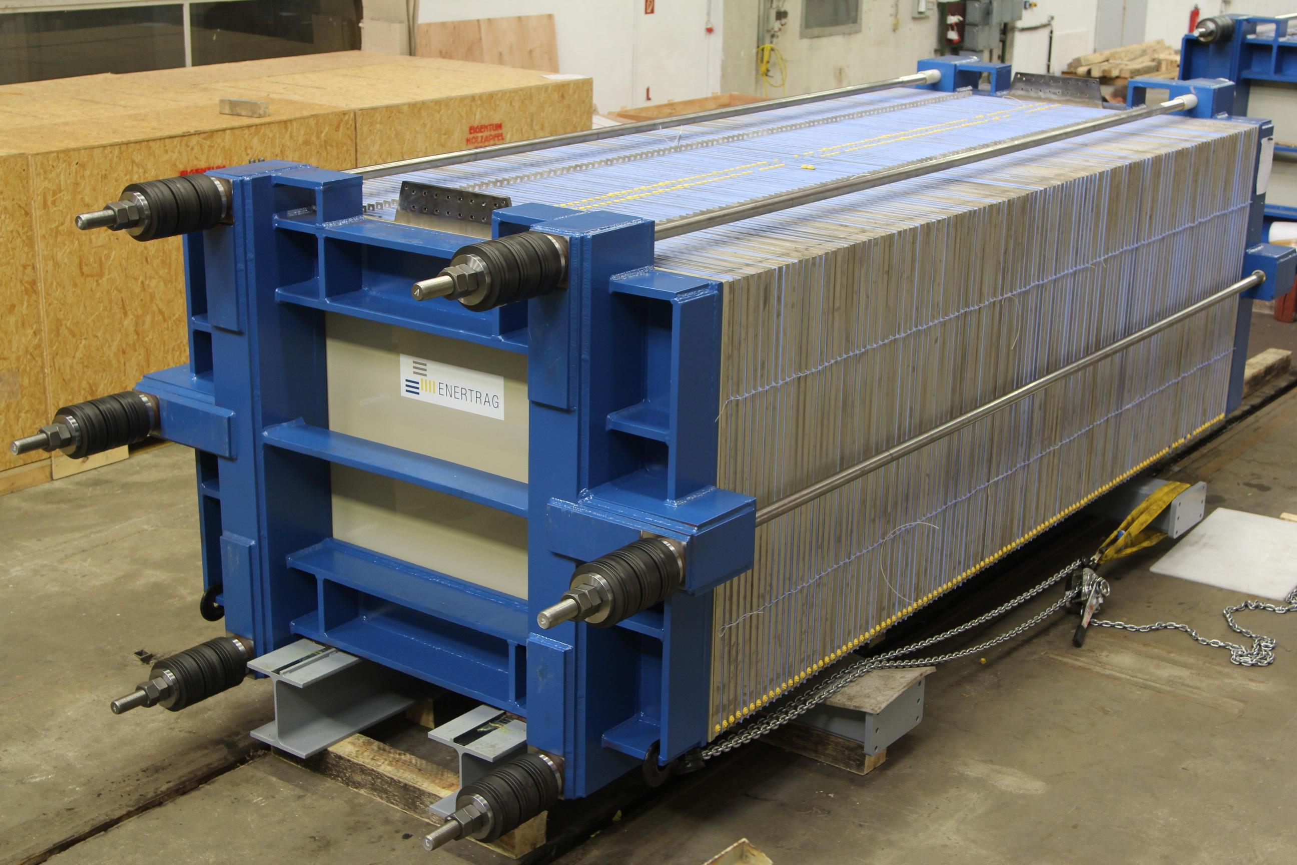 Enertrag 2 MW Elektrolyse-Stack