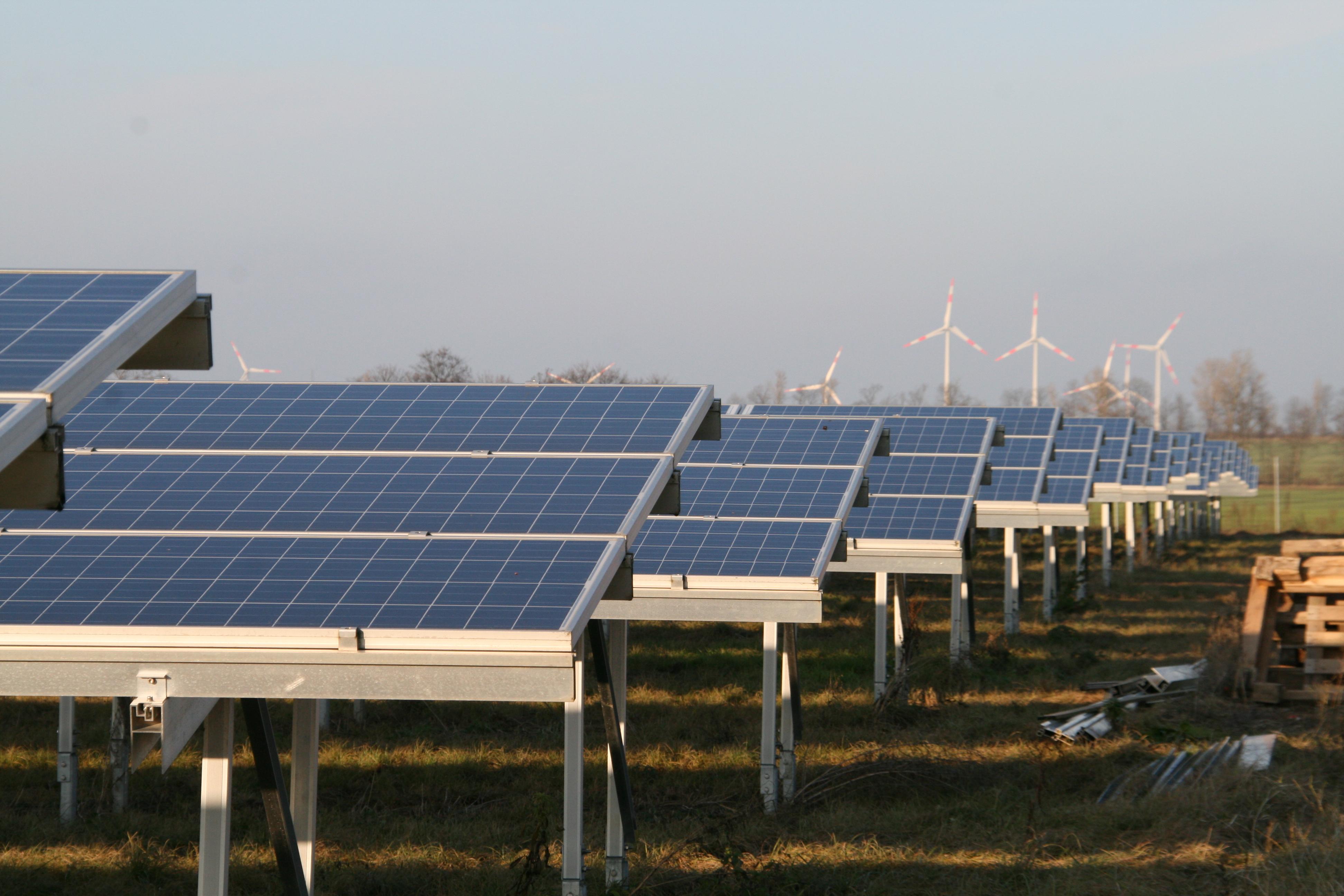 Solarpark im Havelland, Foto: Andreas Kühl