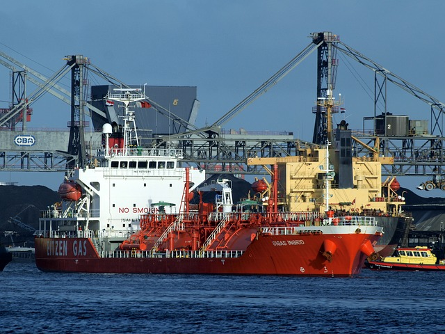 Erdgas-Transportschiff, Quelle: pixabay