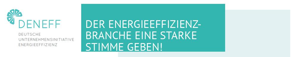 Konferenz für Energieeffizienz mit prominenten Rednern