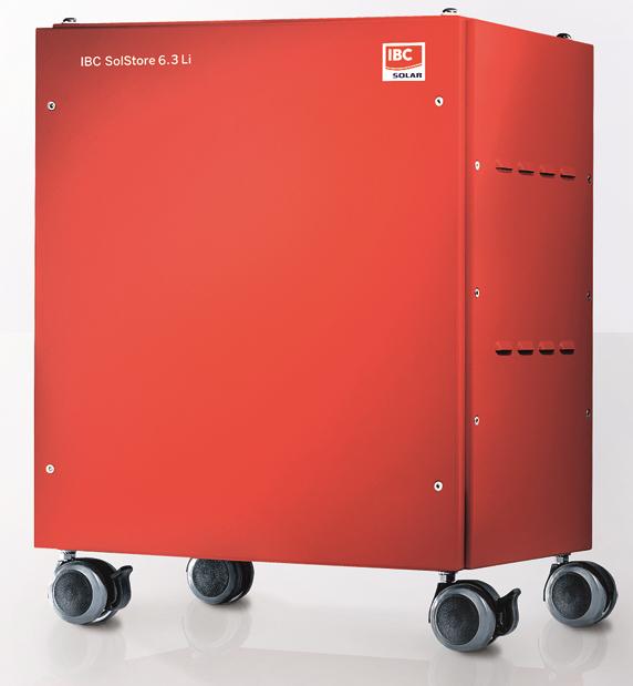 Batteriespeicher für pV-Anlagen erhalten ab 01.05. staatliche Förderung, Foto: IBC-Solar