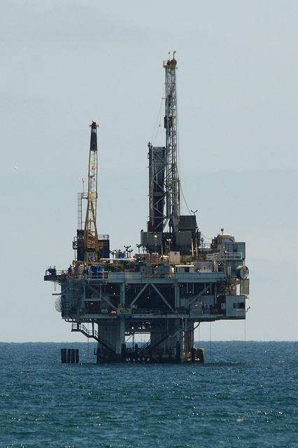 Öl-Plattform Offshore