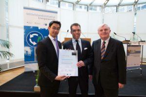 Auszeichnung als Klimaschutz-Unternehmen
