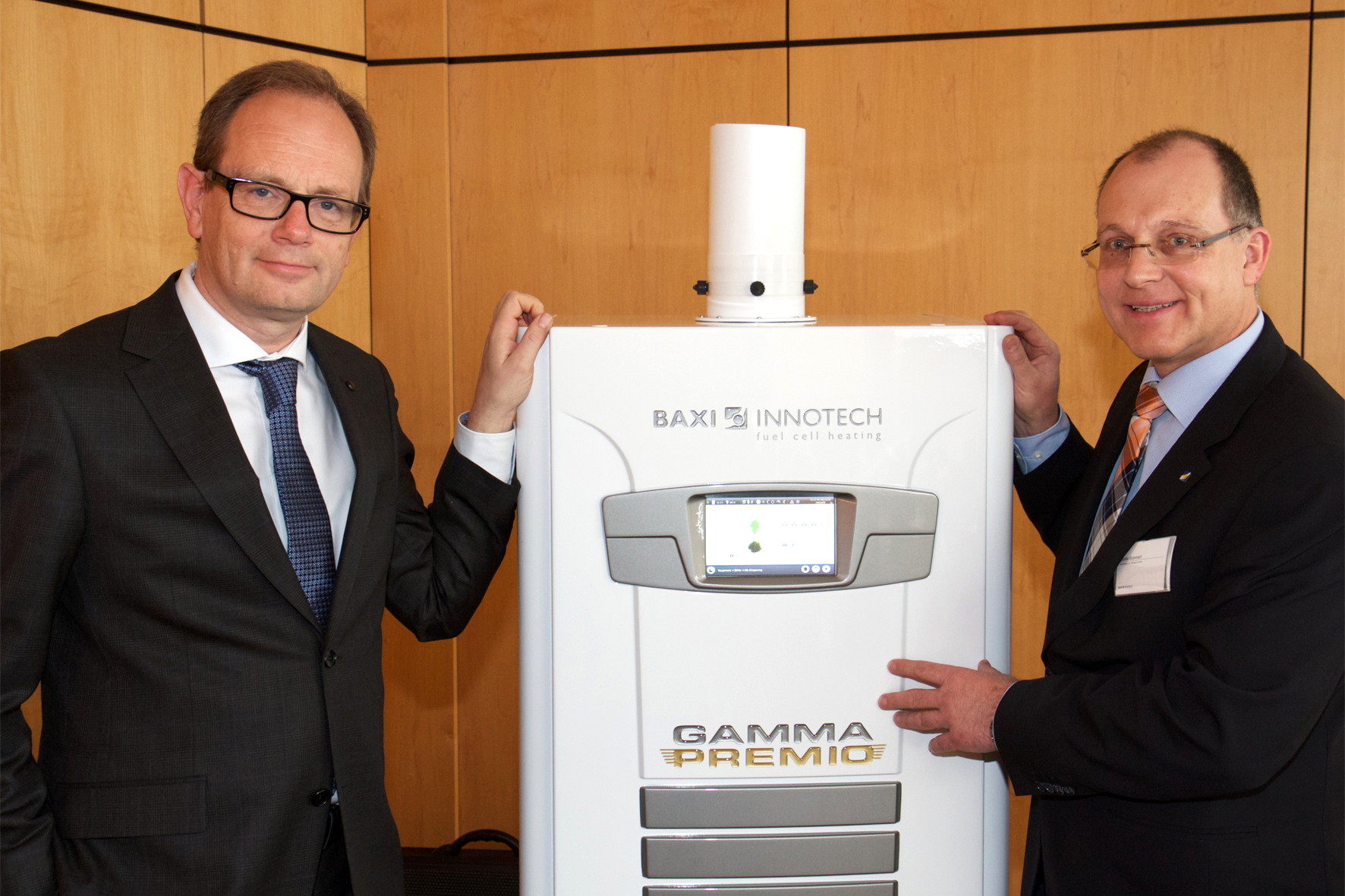 Brennstoffzellen-Heizgerät von Baxi-Innotech